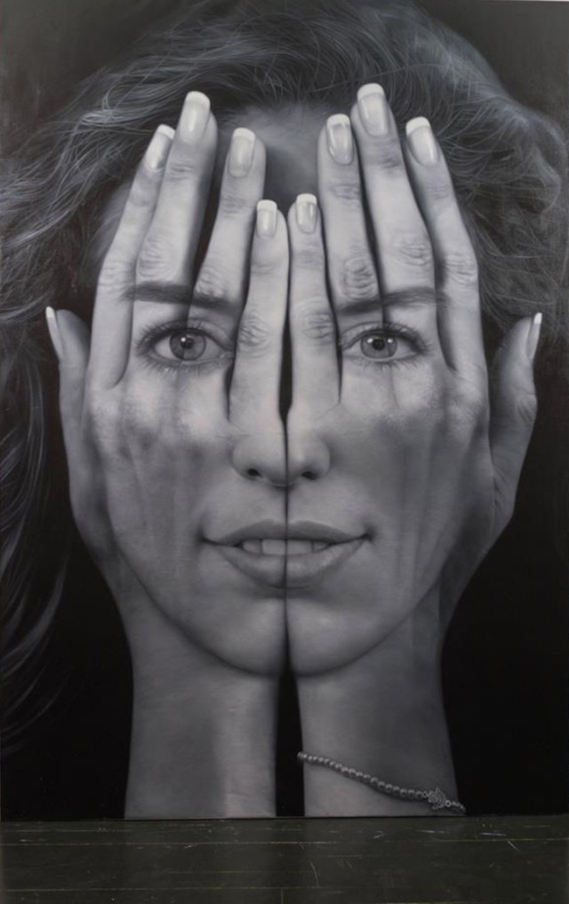 Millenium Optical illlusion paintings Tigran Tsitoghdzyan 3
