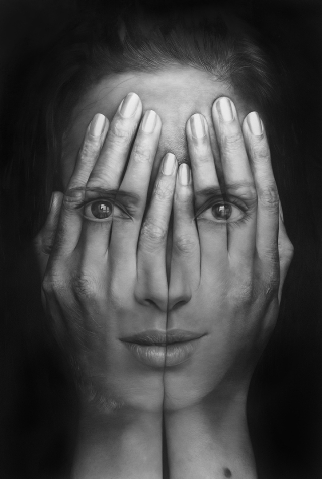 Millenium Optical illlusion paintings Tigran Tsitoghdzyan 5