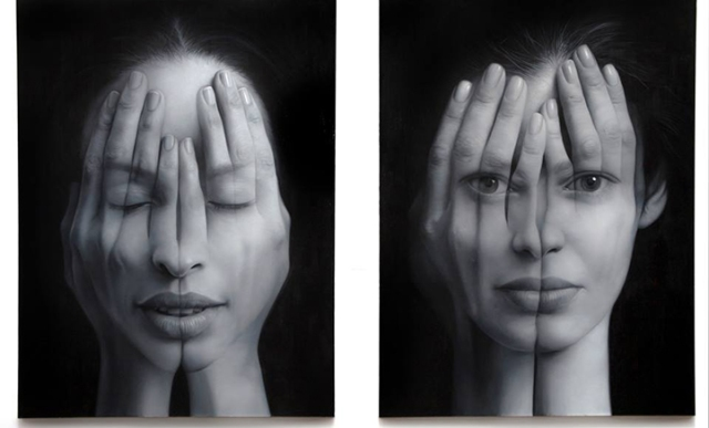 Millenium Optical illlusion paintings Tigran Tsitoghdzyan 6