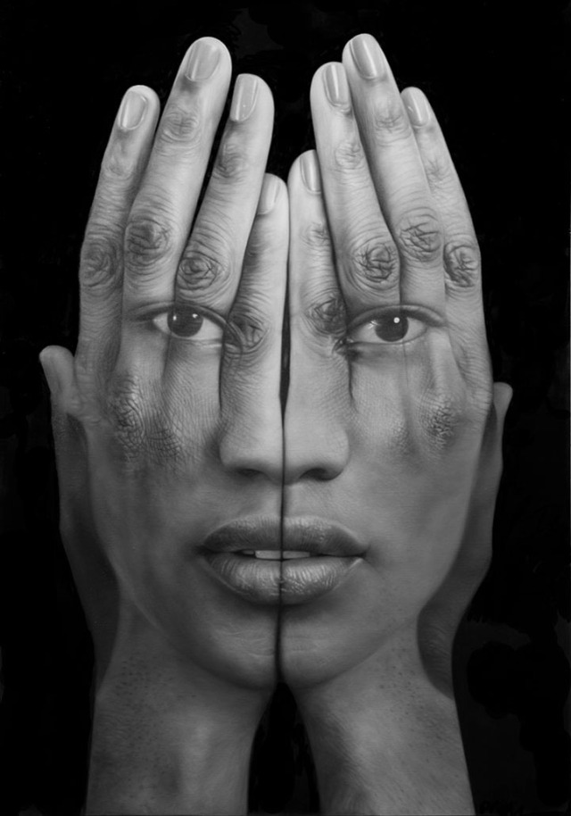 Millenium Optical illlusion paintings Tigran Tsitoghdzyan