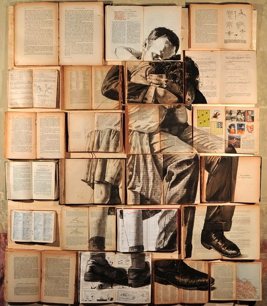 PAINTINGS ON BOOKS EKATERINA PANIKANOVA 10