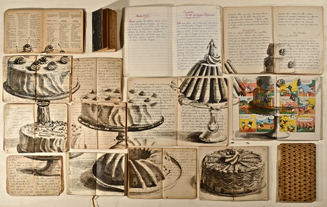 PAINTINGS ON BOOKS EKATERINA PANIKANOVA 2