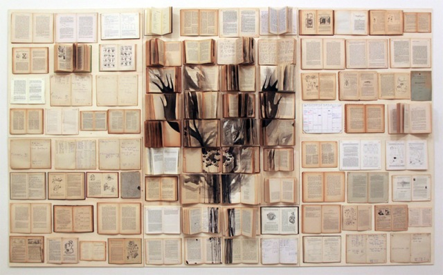 PAINTINGS ON BOOKS EKATERINA PANIKANOVA 7