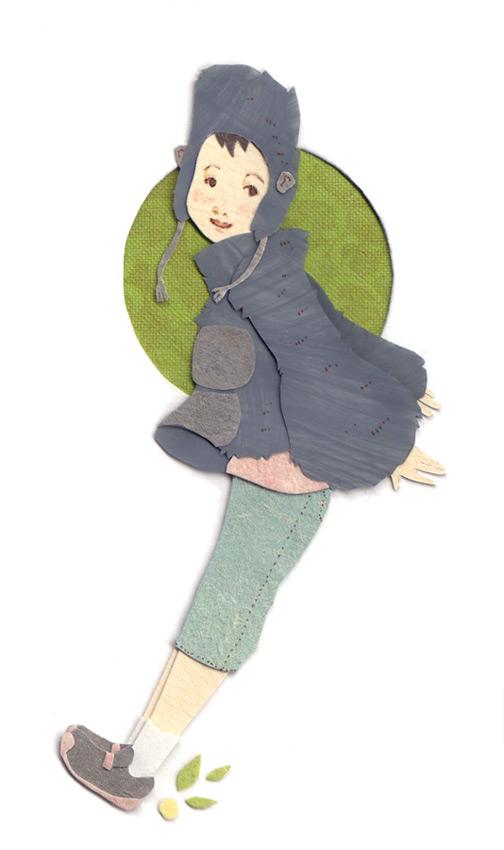 paper illustration and dioramas Miki Sato 15