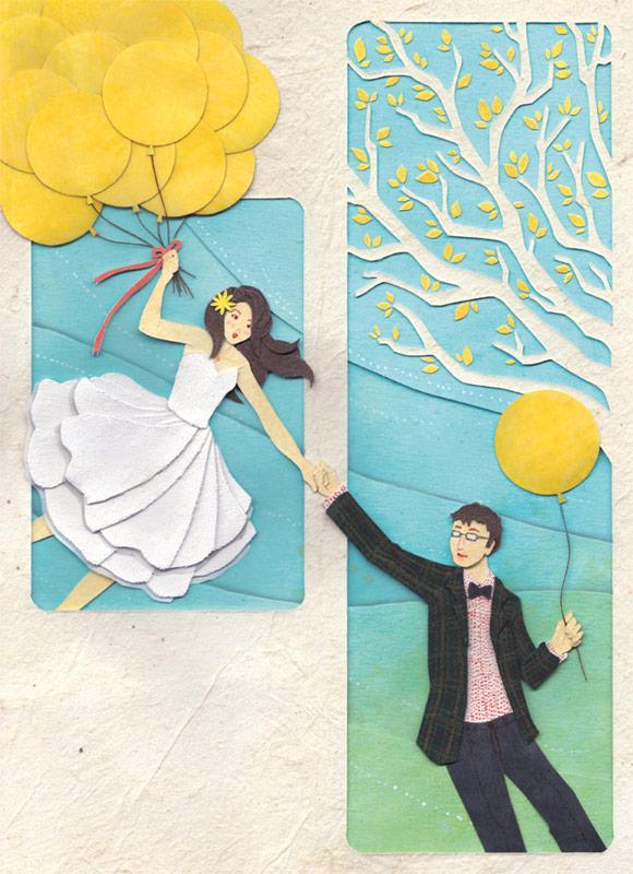paper illustration and dioramas Miki Sato 17