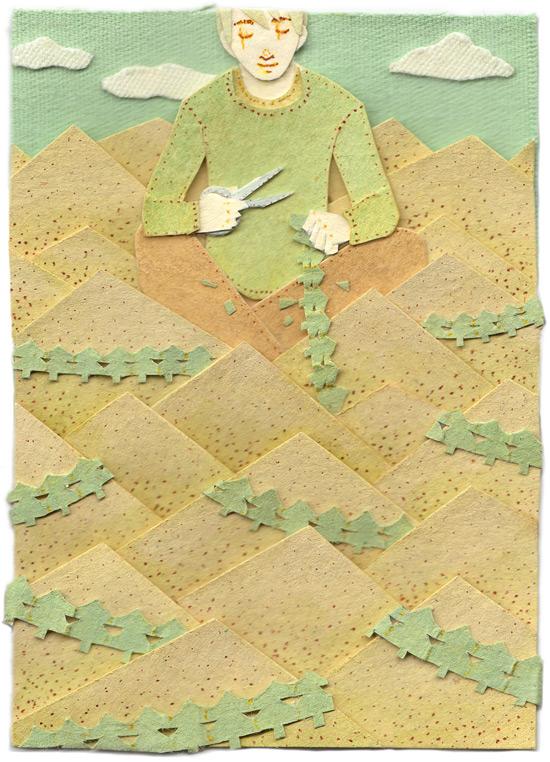 paper illustration and dioramas Miki Sato 25