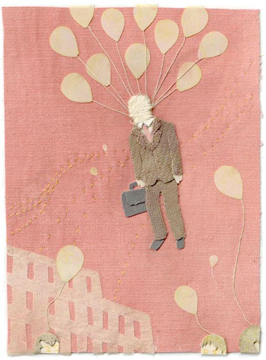 paper illustration and dioramas Miki Sato 27