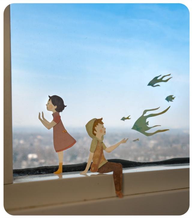 paper illustration and dioramas Miki Sato 30