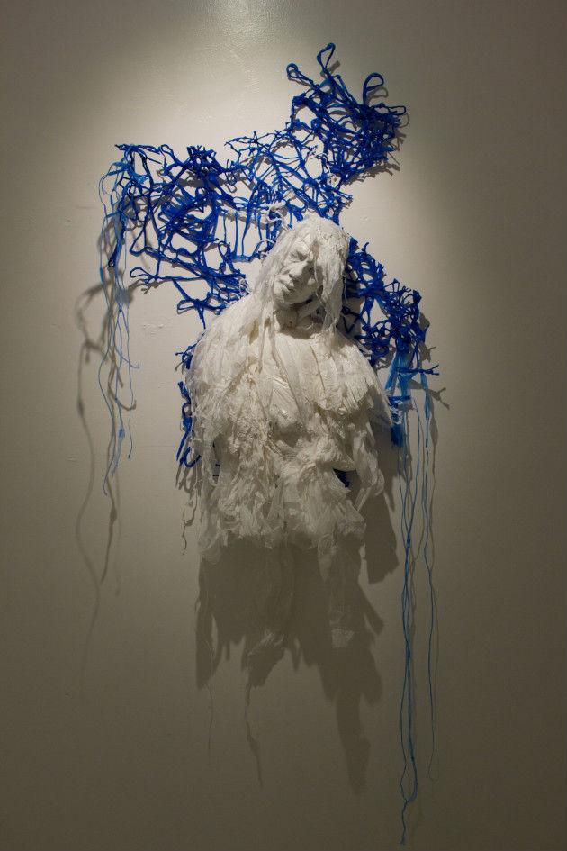 Plastic bag sculptures Khalil Chishtee 11