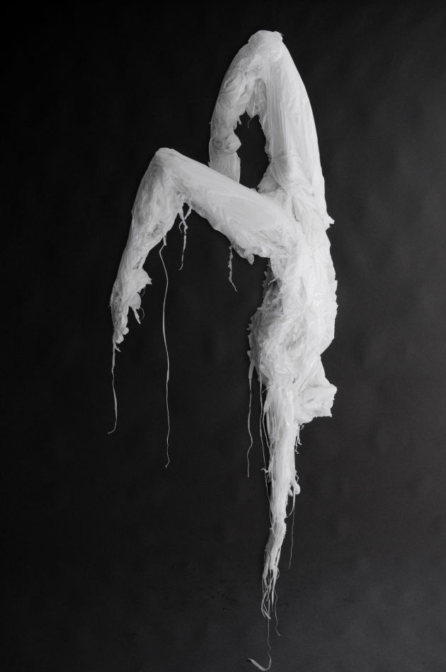 Plastic bag sculptures Khalil Chishtee 12