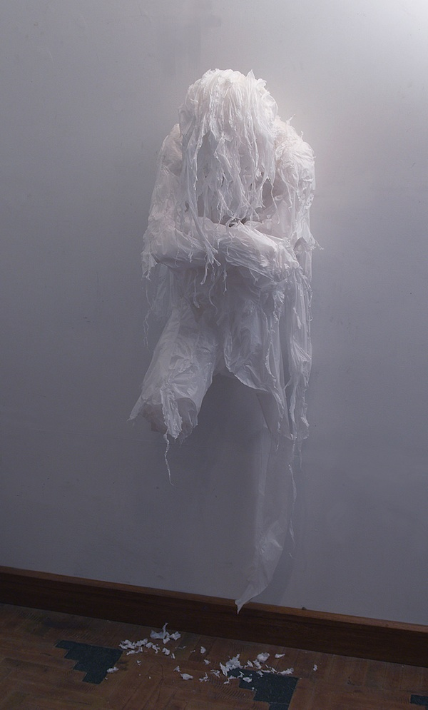 Plastic bag sculptures Khalil Chishtee 7