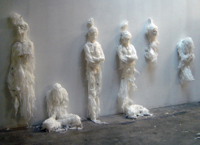 Plastic bag sculptures Khalil Chishtee 8