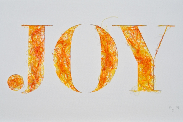 Stitched Typography Peter Crawley