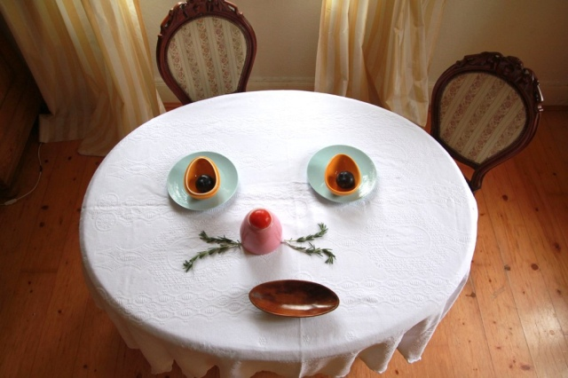 table faces sabine timm