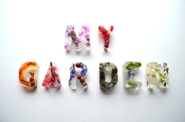 Botanical Ice Typography Petra Blahova