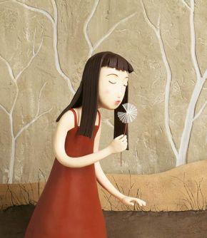 Irma Gruenholz clay illustration 2