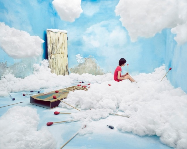 Jee Young Lee Incredible (Non-Photoshopped) Installations 12