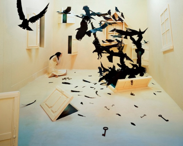 Jee Young Lee Incredible (Non-Photoshopped) Installations 15