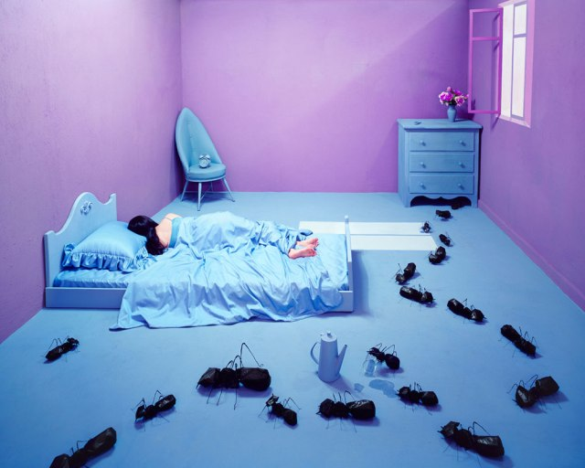 Jee Young Lee Incredible (Non-Photoshopped) Installations 17