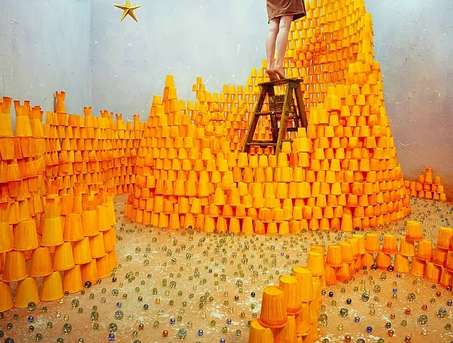 Jee Young Lee Incredible (Non-Photoshopped) Installations 3