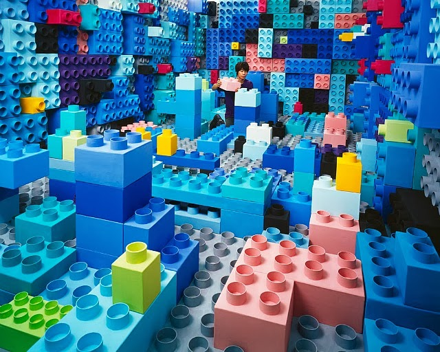 Jee Young Lee Incredible (Non-Photoshopped) Installations 5