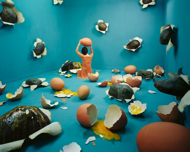 Jee Young Lee Incredible (Non-Photoshopped) Installations