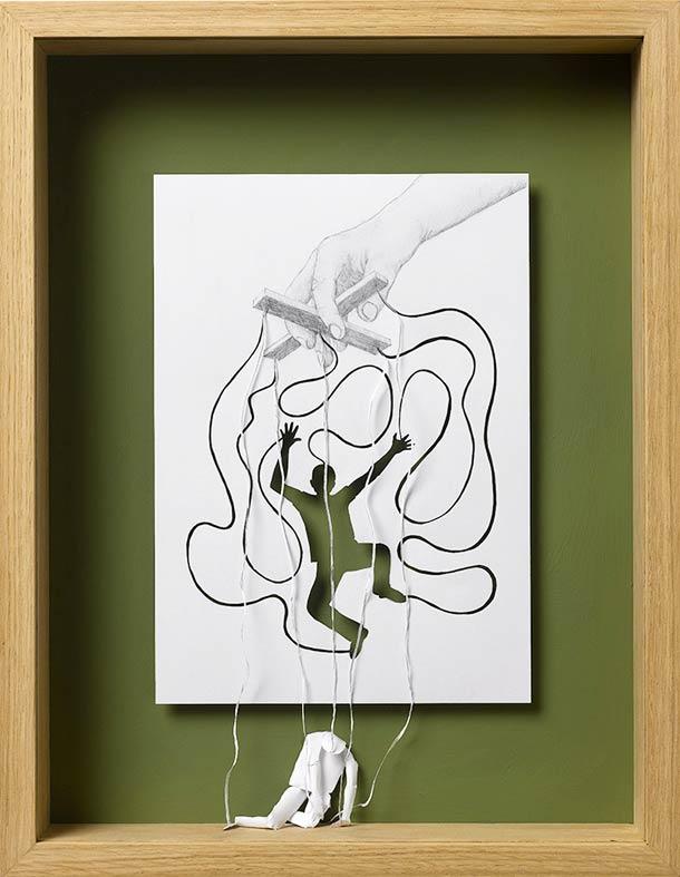 Peter Callesen A4 papercuts 2