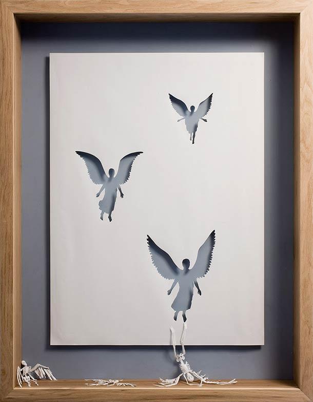 Peter Callesen A4 papercuts 3