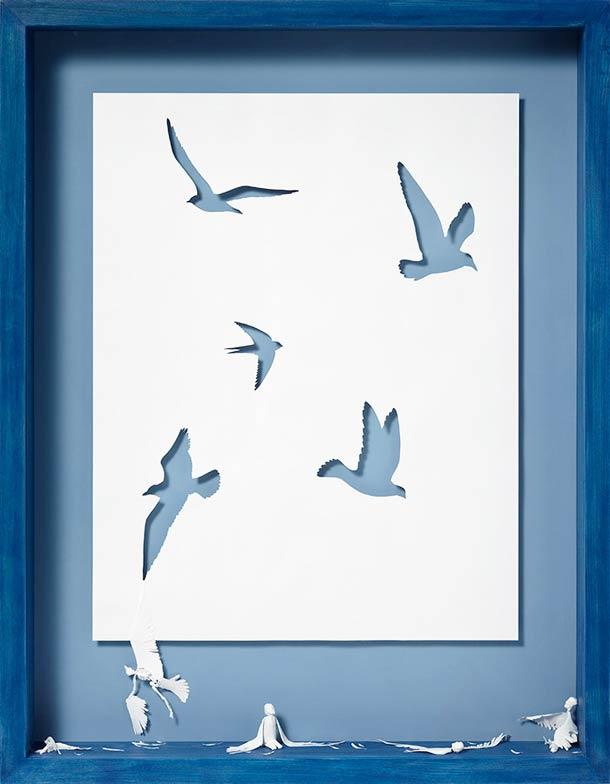 Peter Callesen A4 papercuts 6