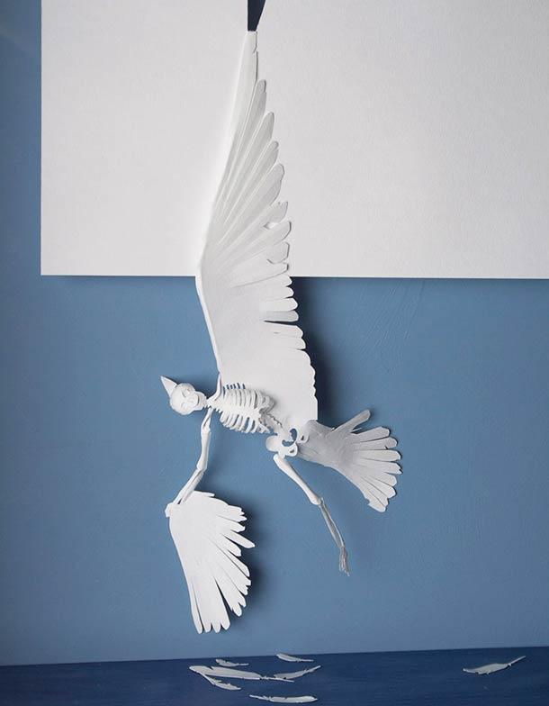 Peter Callesen A4 papercuts 7