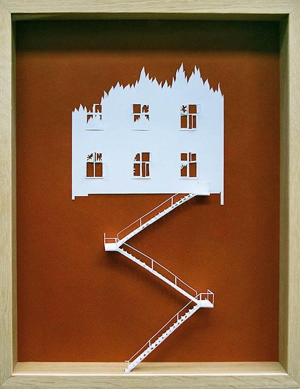Peter Callesen A4 papercuts 9