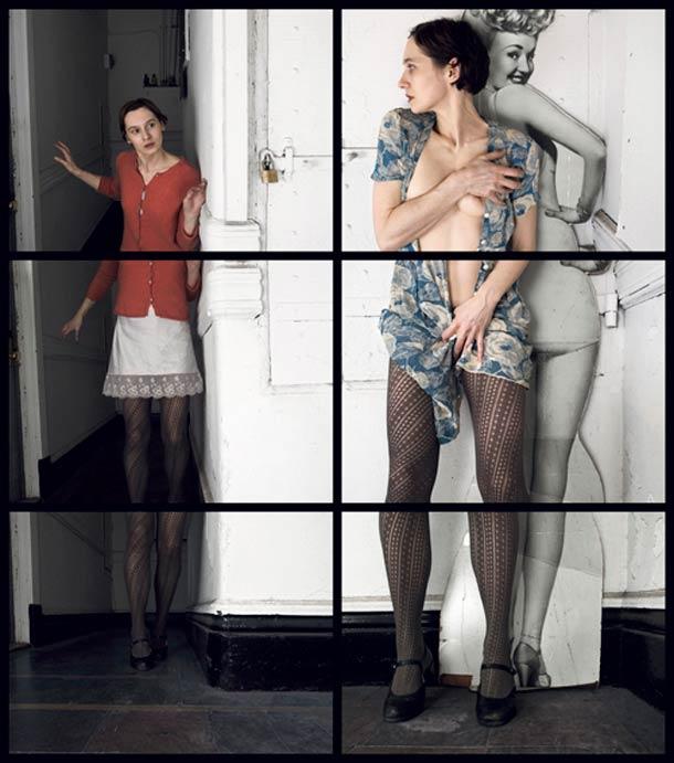 Doppelgänger Cornelia Hediger Fragmented self portraits 11