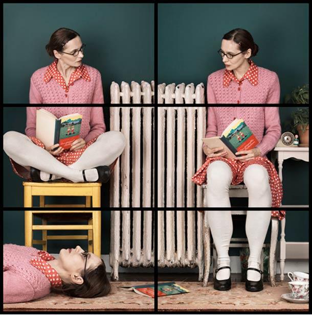 Doppelgänger Cornelia Hediger Fragmented self portraits 15