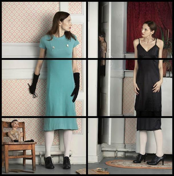 Doppelgänger Cornelia Hediger Fragmented self portraits 3