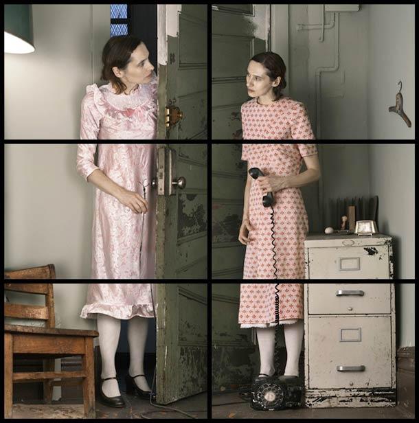Doppelgänger Cornelia Hediger Fragmented self portraits 8