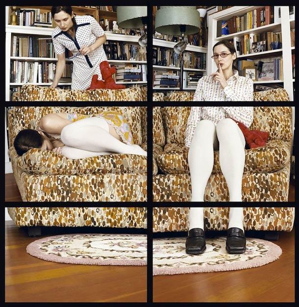 Doppelgänger Cornelia Hediger Fragmented self portraits