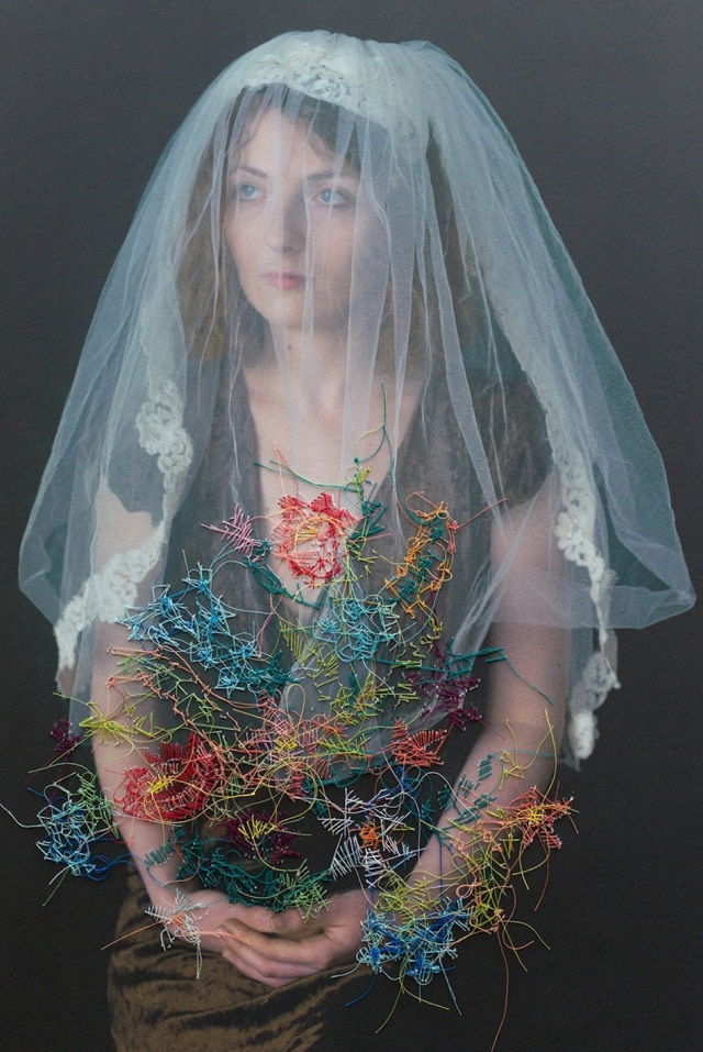 embroidered portraits Melissa Zexter 2