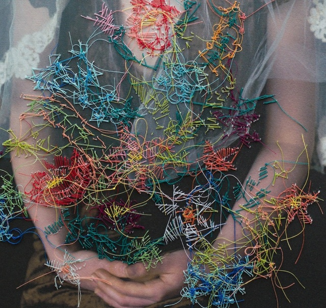 embroidered portraits Melissa Zexter 8