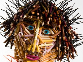 fascinating sculptures made out colored pencils federico uribe 7