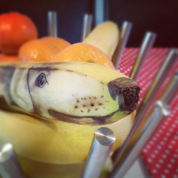Jurgen Steenwelle banana doodles 10