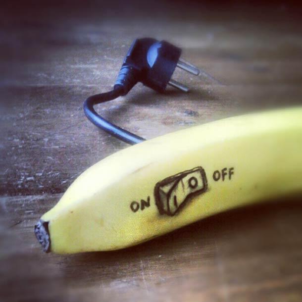 Jurgen Steenwelle banana doodles 5