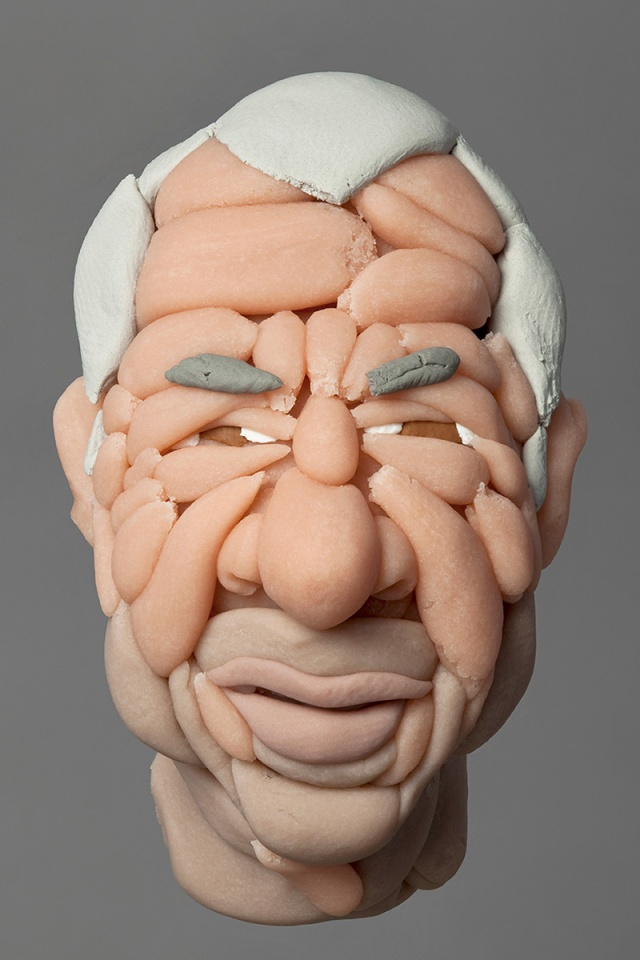 sculptures made of soft plasticine Hamra Abbas 2