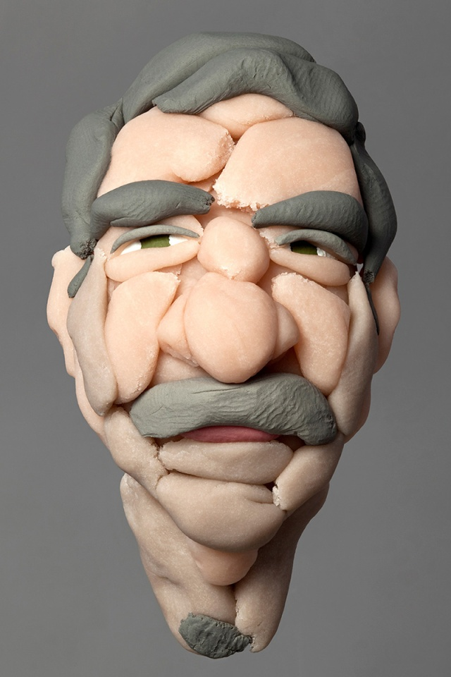 sculptures made of soft plasticine Hamra Abbas 3