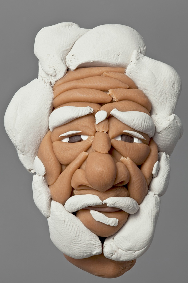 sculptures made of soft plasticine Hamra Abbas 8