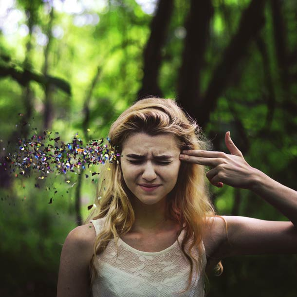 self-portrait Rachel Baran