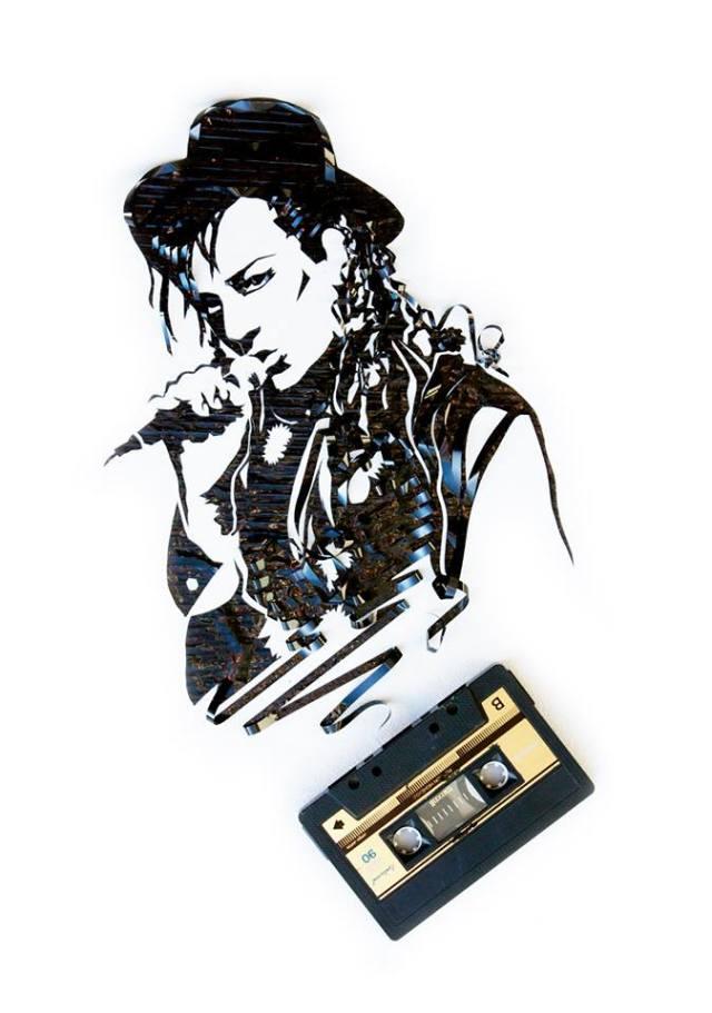 Cassette Tape Art Erika Iris Simmons 14