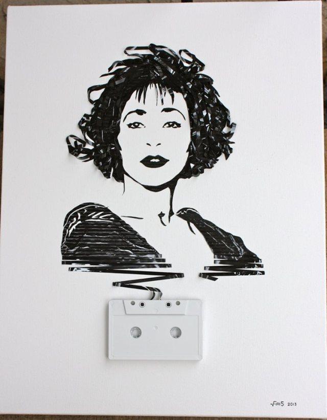 Cassette Tape Art Erika Iris Simmons 15