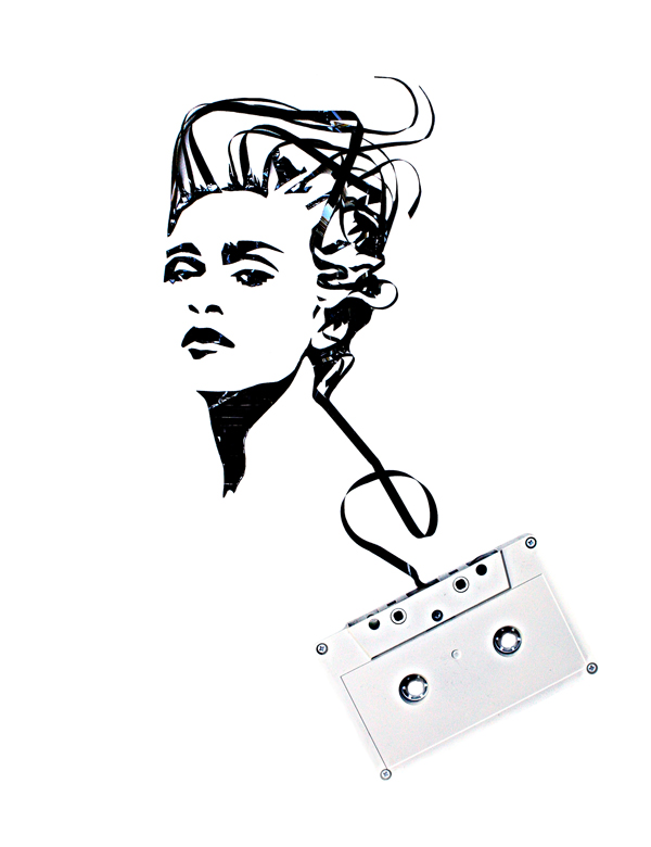 Cassette Tape Art Erika Iris Simmons 3