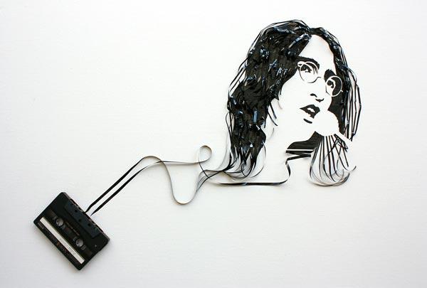 Cassette Tape Art Erika Iris Simmons