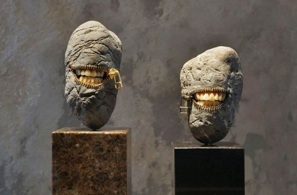 Incredibles Stone Sculptures Hirotoshi Ito 11